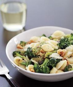 Orecchiette With Roasted Broccoli and Walnuts | undefined