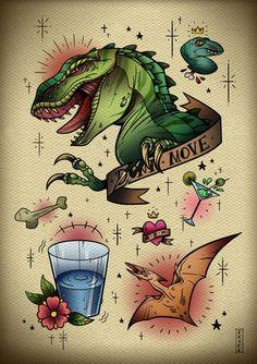 Jurassic Park Tattoos