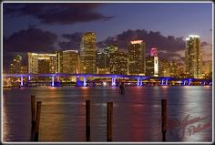 Miami, Florida in December 2014 flying 1st class with hubby to the Academy live event.