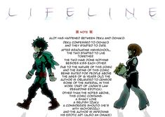 Ciaossu everyone! ~(˘▾˘)~ (Bonus points if you know where that is from!) I'm back with a highly requested comic made by hk on pixiv! This one is called Lifeline and it seems a little more dramatic...