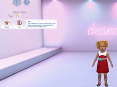 """Sims 4 Shy Toddler Trait honestlytoopetty: """" Just wanted to make some more toddler traits, this one is a shy trait. It adds whims and buffs just like any other trait. how I made a trait What I. Sims 4 Toddler Clothes, Sims 4 Cc Kids Clothing, My Sims, Sims Cc, Sims Traits, Sims 4 Cas Mods, Sims 4 Challenges, Sims 4 Collections, Birthday Presents For Girls"""
