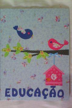 Cartonagem capa de caderno