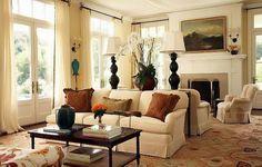 Колониальный стиль в интерьере жилищ