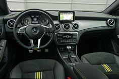 Mercedes-Benz CLA 200 in mountaingrau-metallic #mbhess #mbcars #mbcla