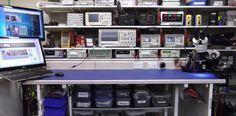 electronics workbench layout setup - Google Search
