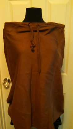 Hey, I found this really awesome Etsy listing at https://www.etsy.com/listing/229774986/brown-linen-drawstring-skirt-by-outer
