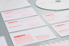 Sagrera TV - Business Card Design Inspiration | Card Nerd
