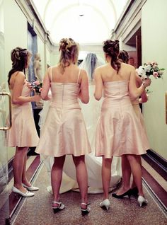 Wait, So THAT's Why Bridesmaids Wear Matching Dresses? #refinery29