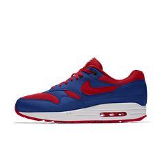Nike Air Max 1 iD Men's Shoe Air Max 1, Nike Air Max, Air Max Sneakers, Sneakers Nike, Nike Co, Custom Shoes, Fashion, Nike Tennis, Custom Tennis Shoes
