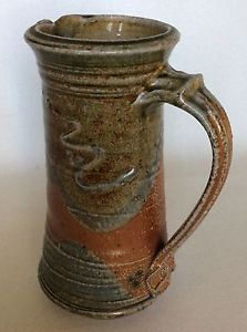 Barry-Huggett-Studio-Pottery-Cornwall-Stoneware-Soda-glaze-jug-pitcher
