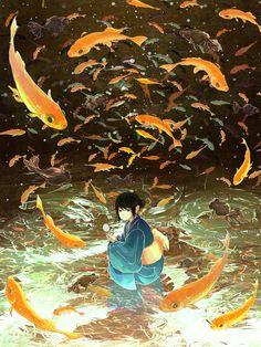 [pixiv] pixivスポットライト - Summer illustrations! #anime #illustration