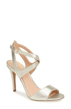 Sole Society 'Ceci' Sandal (Women) available at #Nordstrom, shown in white-gold.