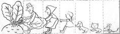 Výsledek obrázku pro pohádka o řepě Preschool Toys, Story Time, The Rock, Storytelling, Literacy, Fairy Tales, Literature, Kindergarten, Crafts For Kids