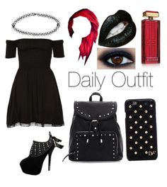 """Daily Outfit"" by blue-beat-2 ❤ liked on Polyvore featuring Diane Von Furstenberg, Boohoo and Elizabeth Arden"