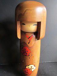 Flot Usaburo Okappa pige  #kokeshi #dukker #japan #japanske_dukker Til salg / for sale at   mariannepetersen.wix.com/kokeshi