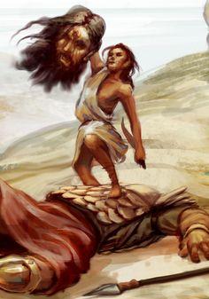 david kills lion - Google Search