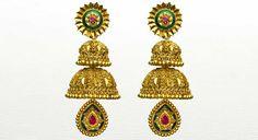 Earring temple