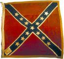 Battle flags of Georgia; the 16th Georgia Infantry Regiment Confederate battle flag of the American Civil War.