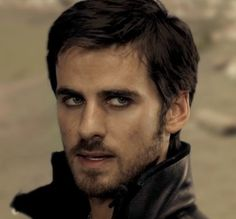 --Is it weird I only like him when he has on black eyeliner? Captain Hook, Once Upon a Time... Dang :)