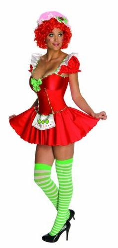 Strawberry Shortcake Sexy Costume