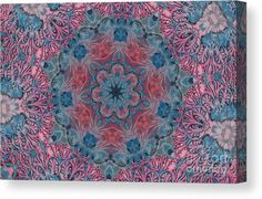 01122 Canvas Print featuring the digital art 01122 by Aileen Griffin