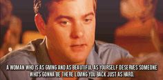 When you need to talk things out, Pacey will eloquently remind you that you are a beautiful, gentle flower, deserving of all the love in the world. | 13 Reasons Why Pacey Was So Much Better Than Dawson