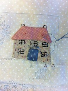 Applique House via Lynette Anderson