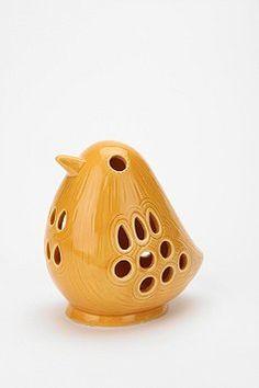 votive candle holder; use flameless votive! :)