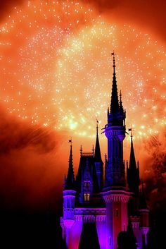 fireworks and disney. favorites.
