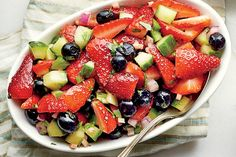 Chow Chow Recipes: Strawberry-Blueberry Relish