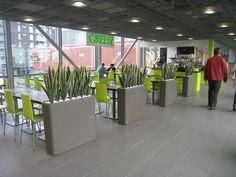 GreenZ salaattibaari Hyvinkää #zumadesign Plants, Projects, Design, Log Projects, Blue Prints, Plant, Planets