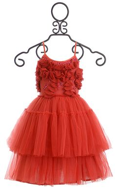 tutu du monde red dress very merry tutu little girl outfits little girl fashion - Christmas Dresses For Teenage Girls