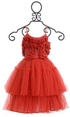 Tutu Du Monde Red Dress Very Merry Tutu
