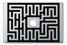 Macbook Funny Humor Decal Sticker Labyrinth