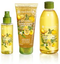 Yves Rocher Les Plaisirs Limited Edition for Summer 2015 Nature Lemon Basil Face Care, Body Care, Skin Care, Yves Rocher, Cosmetics News, Lemon Basil, Fragrance Mist, Peeling, Beauty Make Up