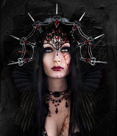 Raven Queen by sofijas.deviantart.com on @DeviantArt