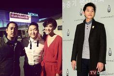 Psy and Song Joong Ki look alike?