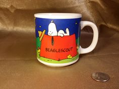 Check out this item in my Etsy shop https://www.etsy.com/listing/220189717/vintage-peanuts-snoopy-beaglescout