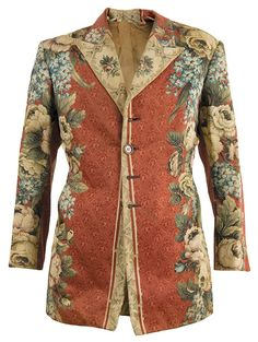 Floral Jacket from Dandie Fashions worn by Jimi Hendrix in 1967.