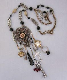 repurposed jewelry pinterest   Repurposed Necklace   jewelry