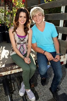 Ross Lynch Laura Marano Friends for Change