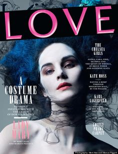Have you seen these fashion shots of the Downton sisters from an English mag called LOVE?
