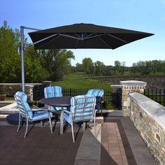 Foot CALI Cantilever Umbrella Products Pinterest - Coolaroo 10 foot round cantilever freestanding patio umbrella mocha