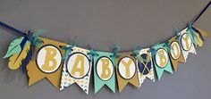 Tribal Baby Shower BannerBoys Boho Baby Shower by wittypaper