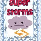 "Be Sure to follow me for more Journey Updates :)  Literacy activities to supplement Second Grade HMH Journeys Reading Series story ""Super Storms"". ..."