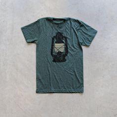 Night Scouting mens t shirt tshirt men by blackbirdtees on Etsy Diy For Men, Everyday Fashion, Tee Shirts, Silk Shirts, Shirt Men, Graphic Tees, Shirt Designs, Menswear, Kerosene Lamp