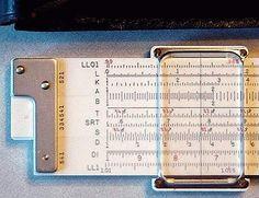 K log log duplex slide rule