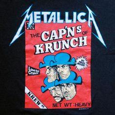 CapN's of Krunch #metallica