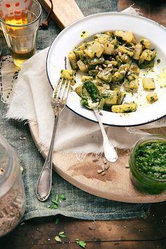 Saveurs Végétales: ► Côtes de blettes au pesto (de feuilles de blettes !)
