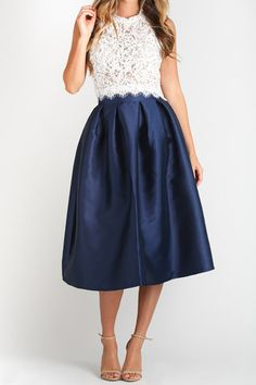 white formal tops for midi skirts - Google Search